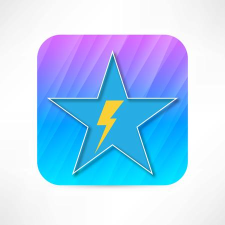 electrocute: lightning icon
