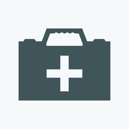 first aid kit: Medical bag icon