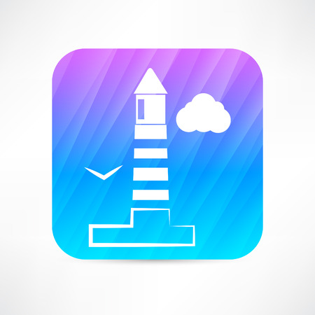 searchlight: lighthouse icon