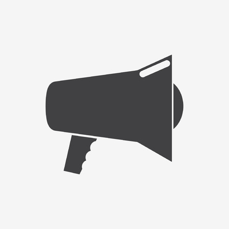Loudspeaker icon, vector. Stock Vector - 32210358