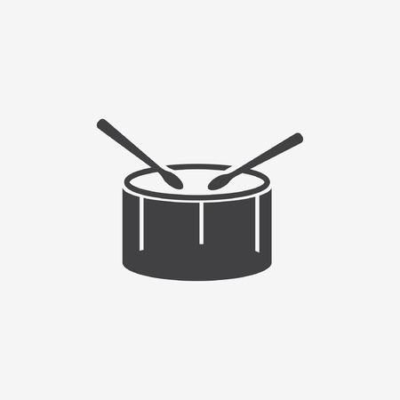 march band: drum icon Illustration