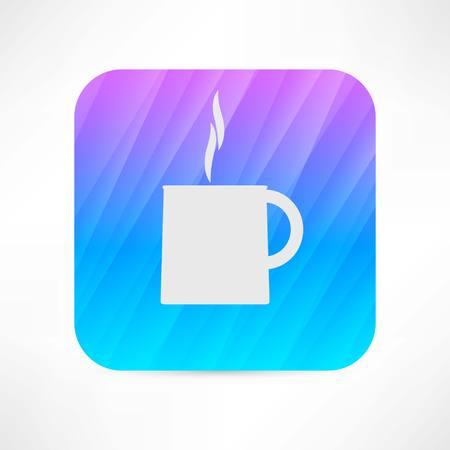 hot cup icon Vectores