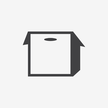 suffrage: box with a slot icon