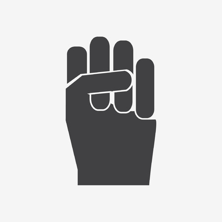 hoping: hand icon