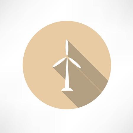 powerplant: Wind Power Plant Icon
