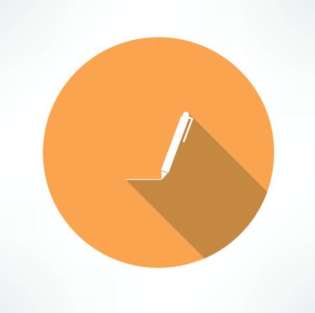 baleen: pen - Vector icon