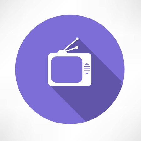 tube TV icon