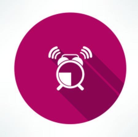 ringing alarm clock icon 版權商用圖片 - 32237106