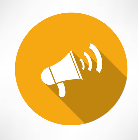 alerts: megaphone - loudspeaker icon
