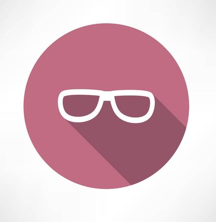 Vector Sunglasses Icon Vectores