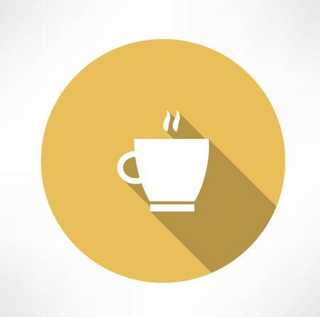 コーヒーカップ: コーヒー カップ、蒸気のアイコン