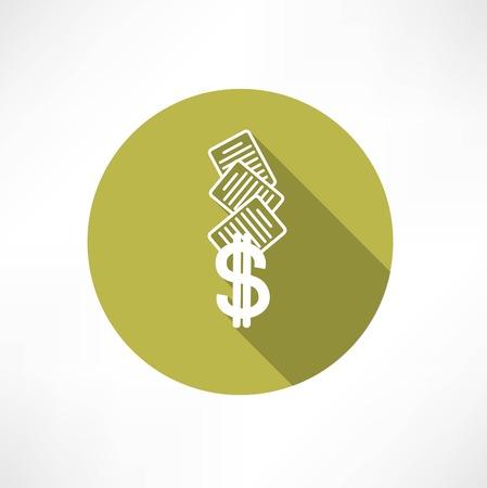 business doc icon. Illustration