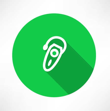 hearing aid: Single hearing aid icon