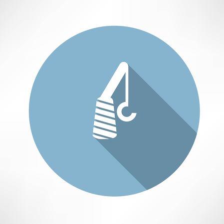 lading: crane icon Illustration