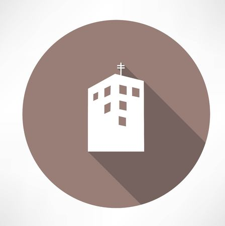 midtown: Townhouse icon Illustration