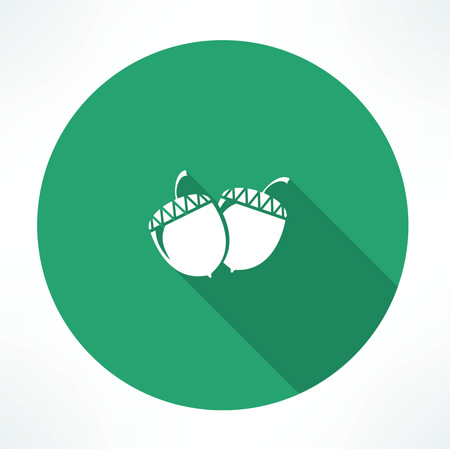 acorn seed: acorn icon