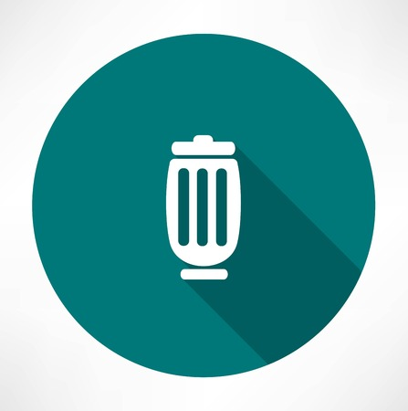 Trash can icon Stock Vector - 32248015
