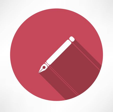 ink pen icon Vector