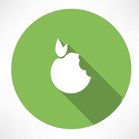 bitten: Mordido icono de Apple Verde
