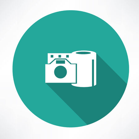 film reel and the camera icon