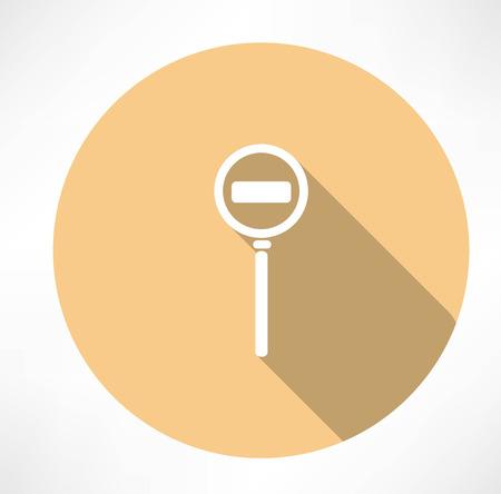Passage is prohibit icon Vector