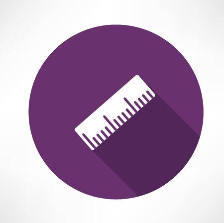 Ruler vector icon
