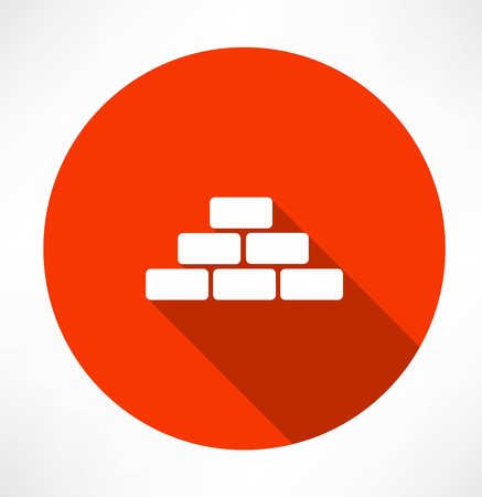 brick work: bricks icon