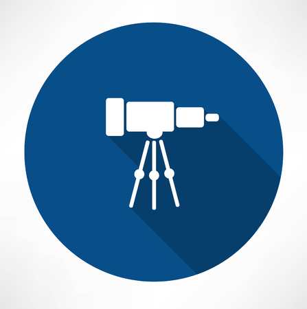 Teleskop-Symbol