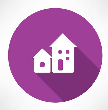 rural development: houses icon