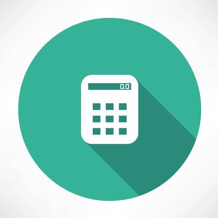 Calculator icon. Vector