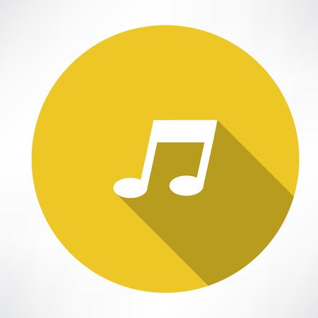 crotchets: melody icon