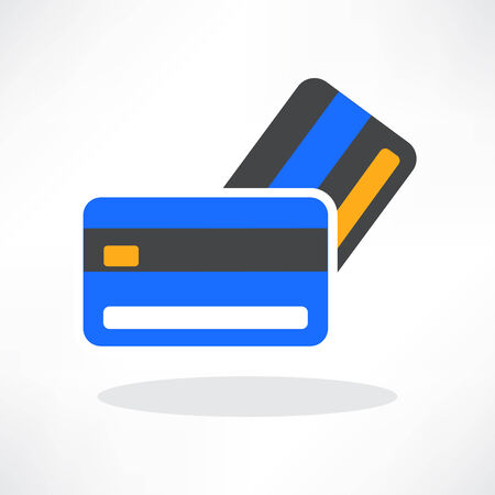valid: vector credit cards icon design element.