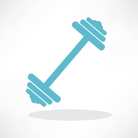 dumbbell weights symbol