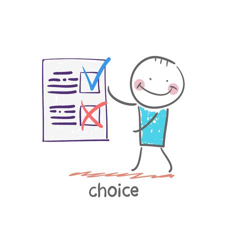 choice: choice Illustration