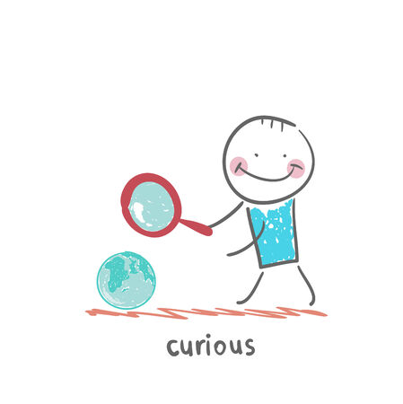 eccentric: curious