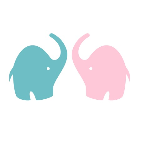 Cute Elephant - Vector File EPS10 Vector