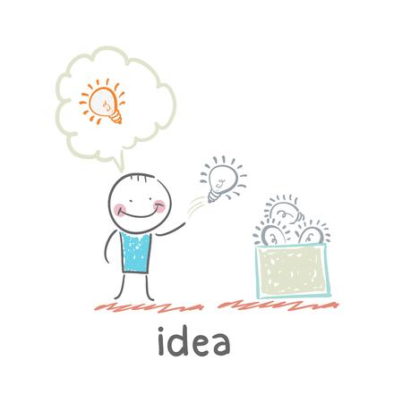 Idee Standard-Bild - 32469745