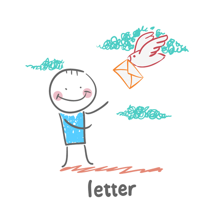flew: letter