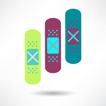 Bandage Health & Medical Icon Vector