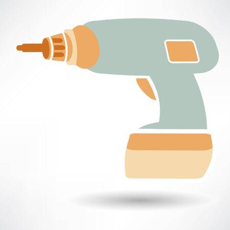 Drill icon Vettoriali