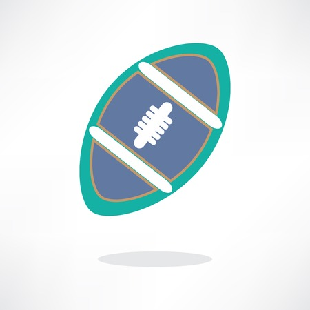 pigskin: american football symbol ,Illustration eps 10