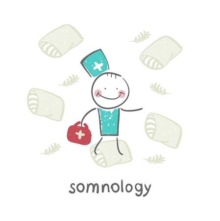 apnea: somnology flies on pillows