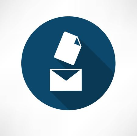 Mail with the document icon