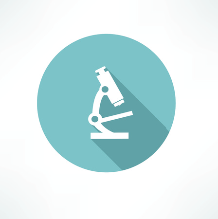 bacteria microscope: microscope icon