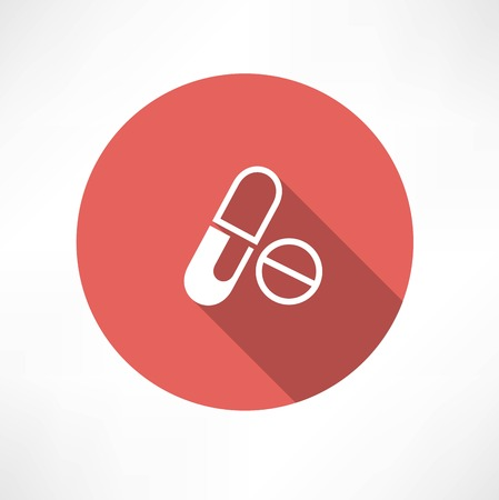 Tablets and pills Icon