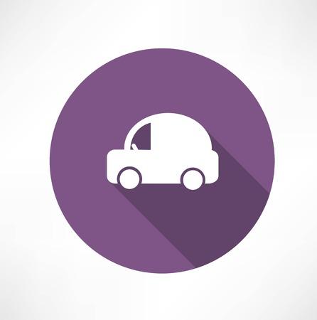 excursions: Car Icon. Vector
