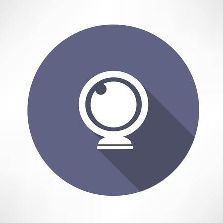 Vector webcam icon Vector