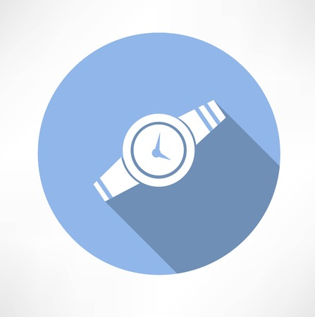 Wristwatch icon Vector