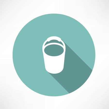 tin: bucket icon
