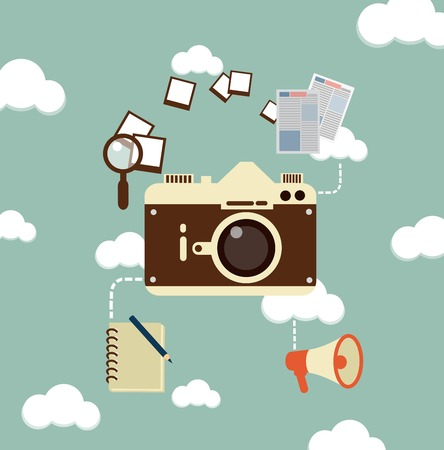 photographs: journalist photographs illustration